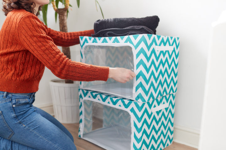 Periea-Clothes-&-Bedding-Storage-Boxes-Under-bed-or-in-Wardrobe-Pack-of-2-Large-77L-blue-chevrons-jnst81pk2bluch-2