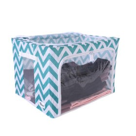 Periea-Clothes-&-Bedding-Storage-Boxes-Under-bed-or-in-Wardrobe-Pack-of-2-Large-77L-blue-chevrons-jnst81pk2bluch-4