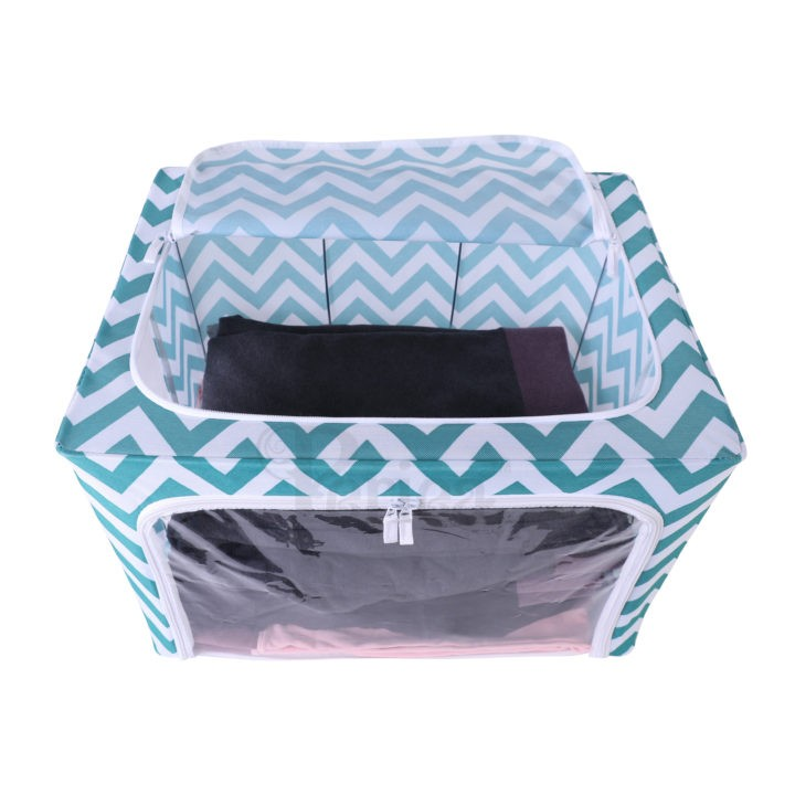 Periea-Clothes-&-Bedding-Storage-Boxes-Under-bed-or-in-Wardrobe-Pack-of-2-Large-77L-blue-chevrons-jnst81pk2bluch-8