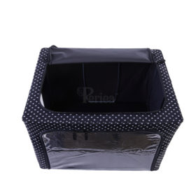 Periea-Collapsible-Clothes-&-Bedding-Storage-Boxes-Under-bed-or-in-Wardrobe-Pack-of-4-black-with-white-polka-dots-JNST81PK4BLW-M-XL-10
