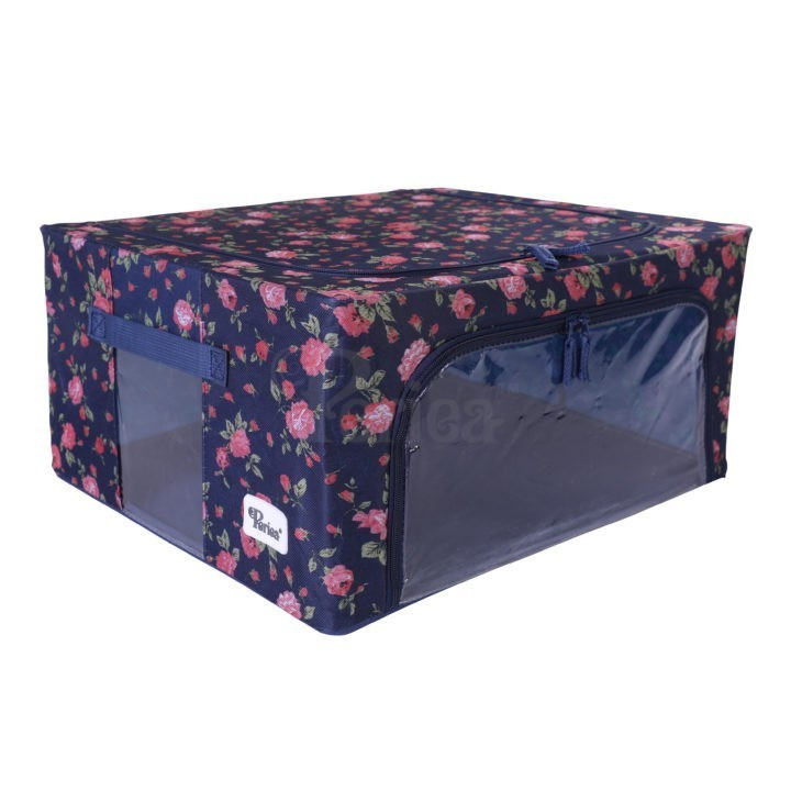 Periea-Collapsible-Clothes-&-Bedding-Storage-Boxes-Under-bed-or-in-Wardrobe-Pack-of-4-floral-blue-JNST81PK4BLUFL-M-XL-19