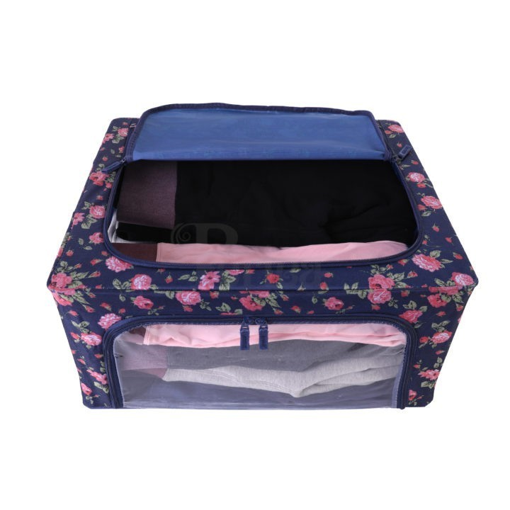 Periea-Collapsible-Clothes-&-Bedding-Storage-Boxes-Under-bed-or-in-Wardrobe-Pack-of-4-floral-blue-JNST81PK4BLUFL-M-XL-2