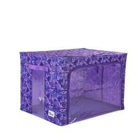 Periea-Collapsible-Clothes-&-Bedding-Storage-Boxes-Under-bed-or-in-Wardrobe-Pack-of-4-purple-paisley-JNST81PK4PUPA-M-XL-12
