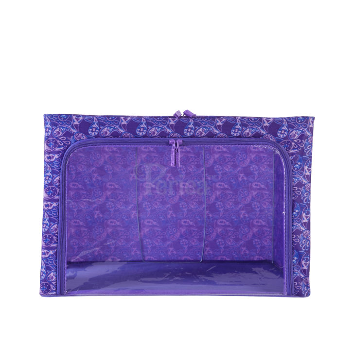 Periea-Collapsible-Clothes-&-Bedding-Storage-Boxes-Under-bed-or-in-Wardrobe-Pack-of-4-purple-paisley-JNST81PK4PUPA-M-XL-19