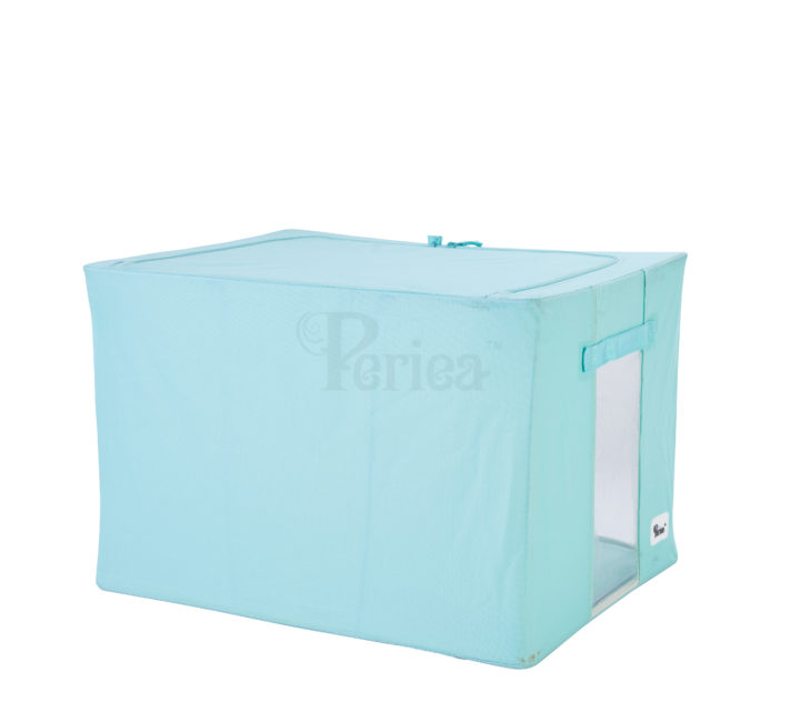 Periea-Collapsible-Clothes-&-Bedding-Storage-Boxes-Under-bed-or-in-Wardrobe-Pack-of-4-seaglass-JNST81PK4SEAG-M-XL-13