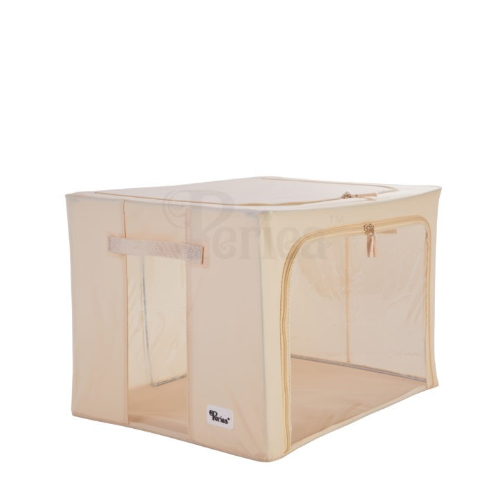 Periea-Collapsible-Clothes-&-Bedding-Storage-Boxes-Under-bed-or-in-Wardrobe-Pack-of-4-tan-JNST81PK4CR-M-XL-12