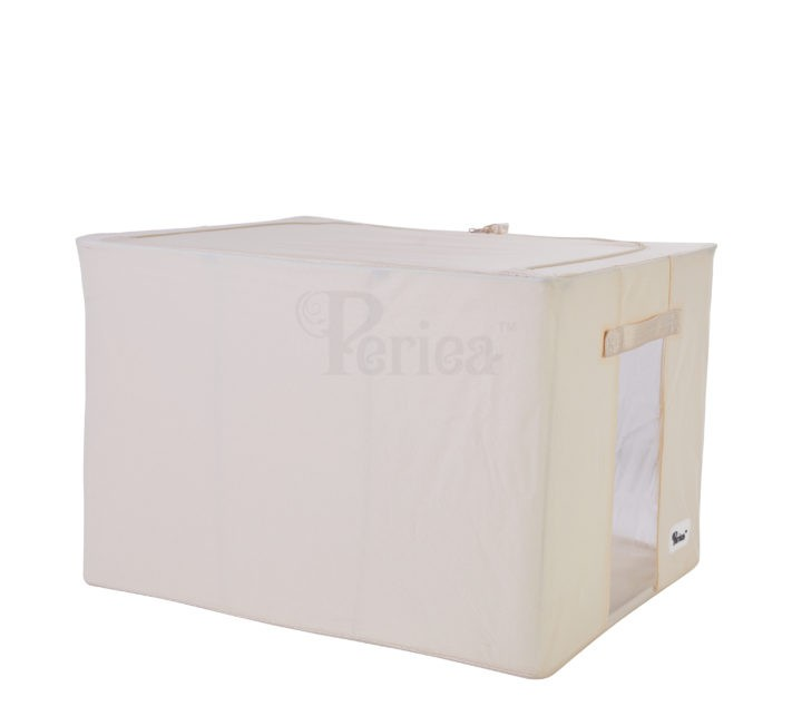 Periea-Collapsible-Clothes-&-Bedding-Storage-Boxes-Under-bed-or-in-Wardrobe-Pack-of-4-tan-JNST81PK4CR-M-XL-18