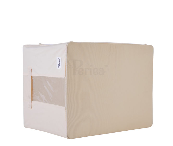 Periea-Collapsible-Clothes-&-Bedding-Storage-Boxes-Under-bed-or-in-Wardrobe-Pack-of-4-tan-JNST81PK4CR-M-XL-19