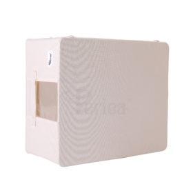 Periea-Collapsible-Clothes-&-Bedding-Storage-Boxes-Under-bed-or-in-Wardrobe-Pack-of-4-tan-JNST81PK4CR-M-XL-5