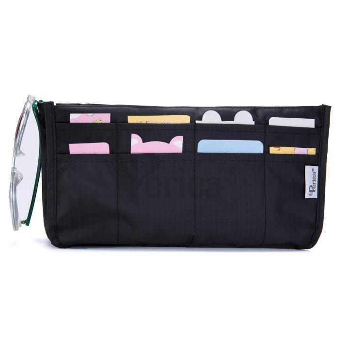 Periea-Handbag-Organiser–Daisy–Black–JNB60BL-3
