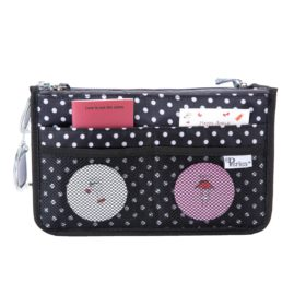 Periea-Premium-Structured-Handbag-Organiser-Black-with-White-Polka-Dots-JNB18BLWXLHA-4