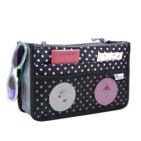 Periea-Premium-Structured-Handbag-Organiser-Black-with-White-Polka-Dots-JNB18BLWXLHA-5