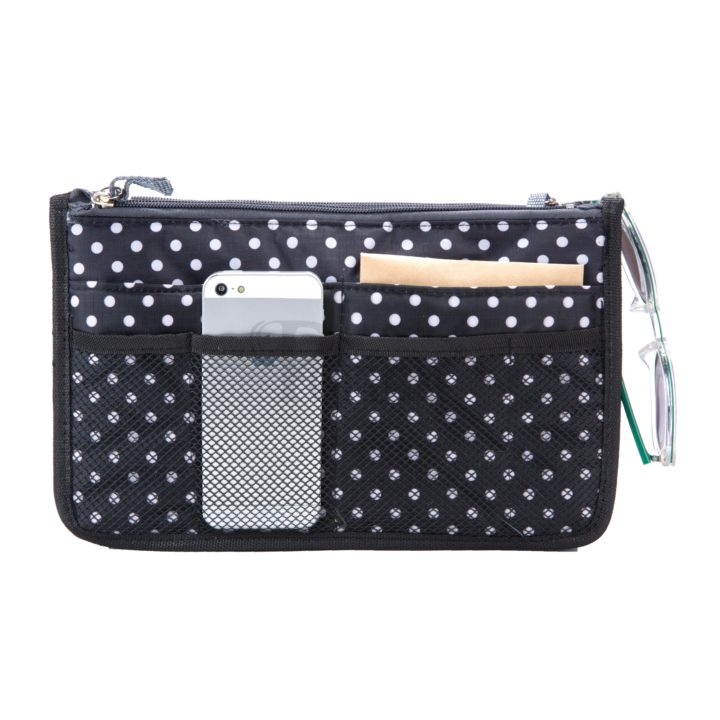 Periea-Premium-Structured-Handbag-Organiser-Black-with-White-Polka-Dots-JNB18BLWXLHA-6