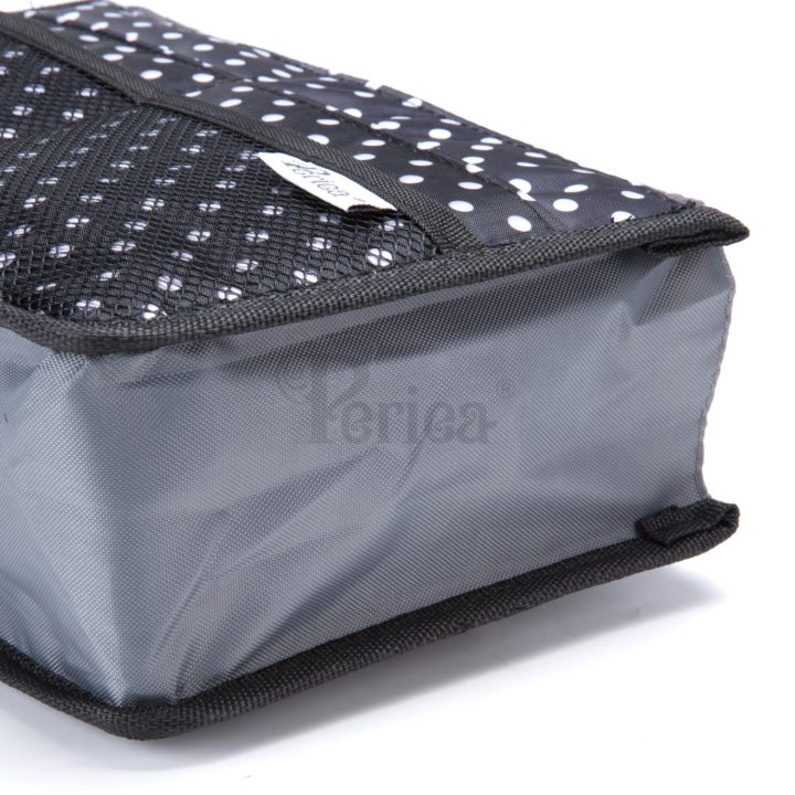 Periea-Premium-Structured-Handbag-Organiser-Black-with-White-Polka-Dots-JNB18BLWXLHA-9